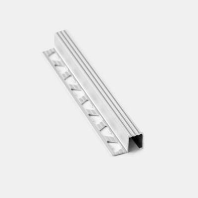 Protector Escalón 2.50 metros Aluminio Cromo Mate