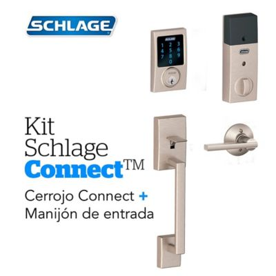 Kit Connect Century Satín+Manijón  Schlage