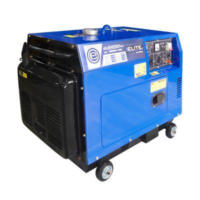 Generador Diesel 5.5Kw 120/240V 10Hp Cerrado