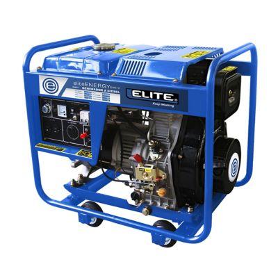 Generador Diesel 5.5Kw 120/240V 10HP Abierto