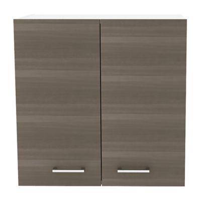 Mueble Superior para Cocina Rossi 2 Puertas 60x60x33,5 cm Verde Olivo