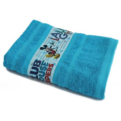 Toalla Mickey Flechas  70 x 130 cm 400 gr Azul