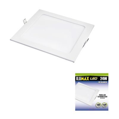 Led Panel Plano 24W Lb 30X30Cm Ilum Caj