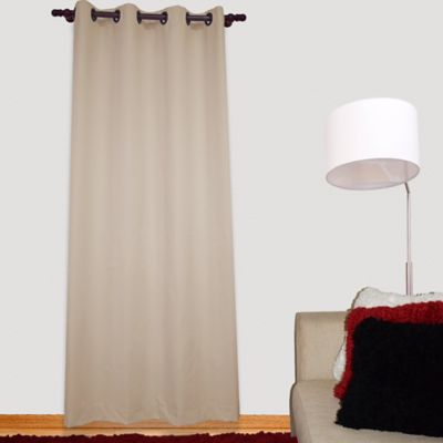 Cortina Blackout Báltica 140 x 218 Taupe