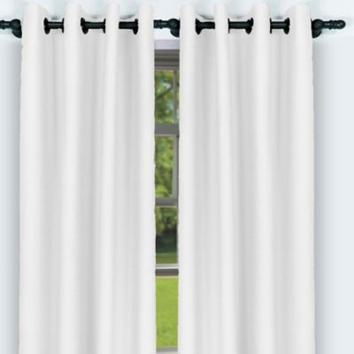 Set x 2 Cortina Caprino 150 x 218 Blanca