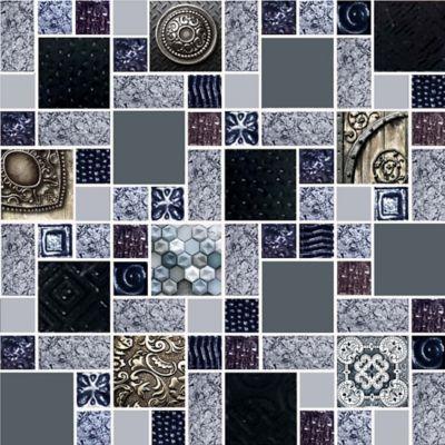 Mosaico Cerámico Valquiria 30x30 Centímetros Negro