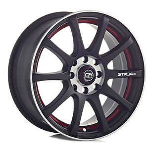 Rin 14 Aluminio 355 Negro
