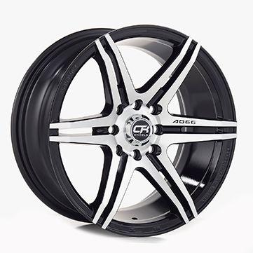 Rin 14 Aluminio 3928 Negro
