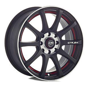 Rin 15 Aluminio 355 Negro