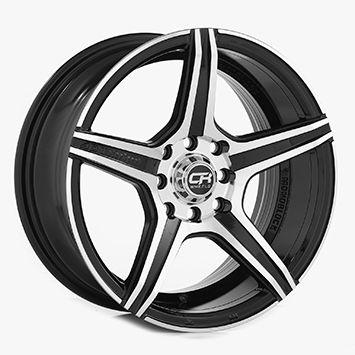 Rin 15 Aluminio 3903 Negro