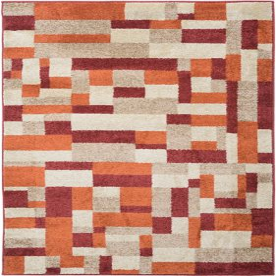 Tapete Portland 160x235 cm Rojo