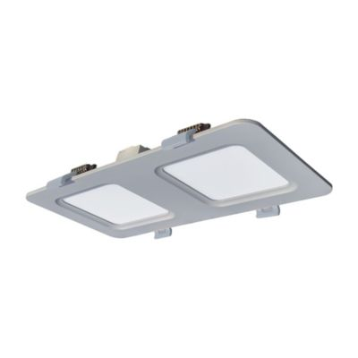 Panel Led Rectangular 820 Lúmenes 12w Luz Blanca Blanco