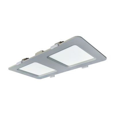 Panel Led Rectangular 1364 Lúmenes 18w Luz Blanca Blanco