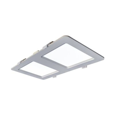 Panel Led Rectangular 1850 Lúmenes 24w Luz Blanca Blanco