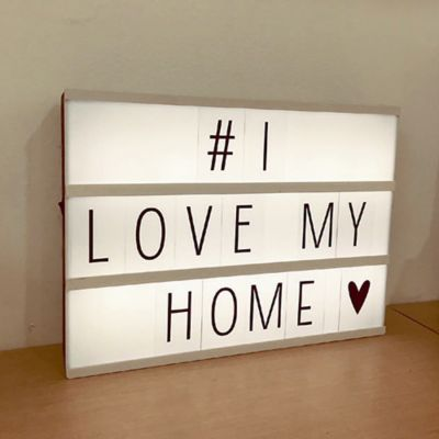 Letrero Luminoso Led + 85 Letras