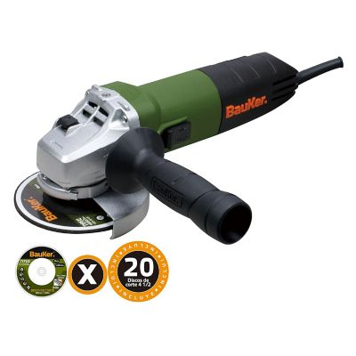Pulidora 4 1/2Pg 820W 11000Rpm + 20 Discos