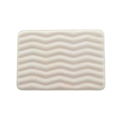 Tapete de Baño Zigzag Ivory 43x61cm