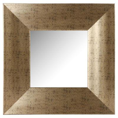 Espejo Dorado 40 x 40 cm