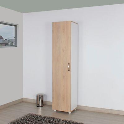 Mueble Auxiliar Aseo Viena 1 Puerta 176.8x39.7x36.7 cm Rovere