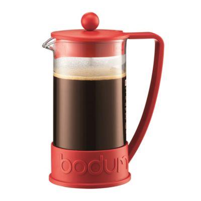 Cafetera Brazil Roja 8 Tzs