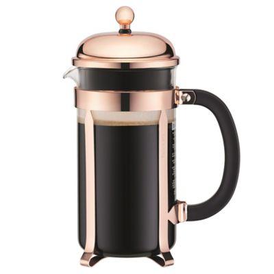 Cafetera Chambord Cobre 8 Tzs