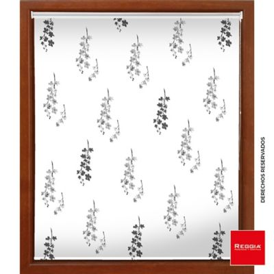 Persiana Blackout Mco Print 160x180 Flowers