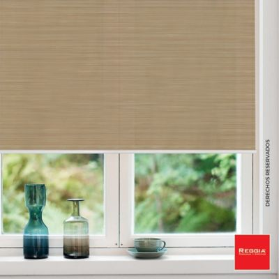 Persiana Enrollable Solar Screen 180 X 180 cm Valencia Camel Beige
