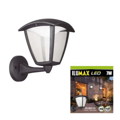 Aplique exterior colonial superior led 7w luz fría ilumax