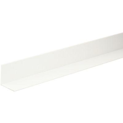 Ángulo PVC Blanco Satin 20x20mm 2m