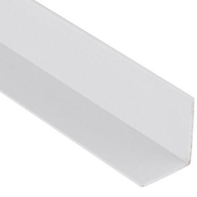 Ángulo PVC Blanco Satin 25X20mm 2m