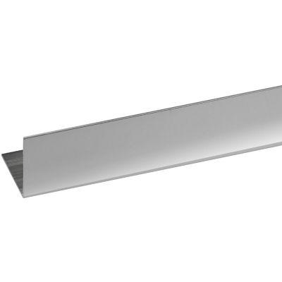 Ángulo Aluminio Platead Brillo 20X20mm2m