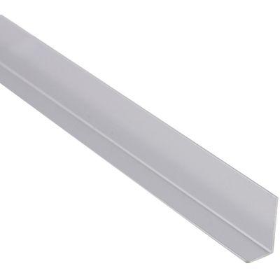 Ángulo Aluminio Platead Brillo 20X10mm2m