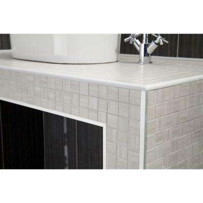 Ángulo PVC Blanco Satin 30x30mm 1m