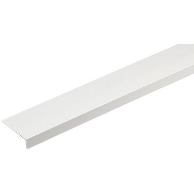 Ángulo PVC Blanco Satin 20x10mm 1m