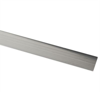 Platina Aluminio Brillante 20X2mm 1m