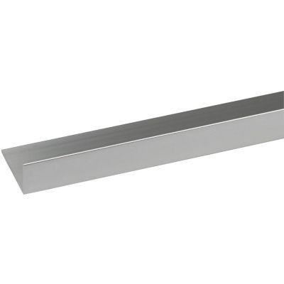 Ángulo Aluminio Brillante 15X10mm 1m