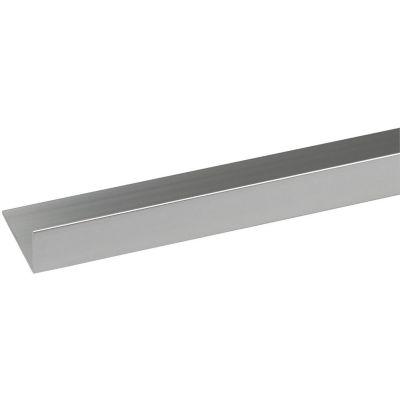 Ángulo Aluminio Brillante 25X15mm 1m