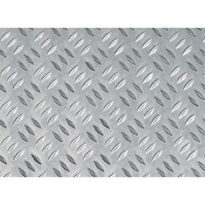 Chapa Decorativa Aluminio Grano 50X40mm