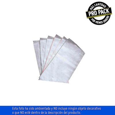 Propack Empaque de Lona 92x60cm Blanco Polipropileno x10und