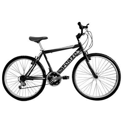 Bicicleta Mtb Hombre 26 18 Cambios Negro Bt261801