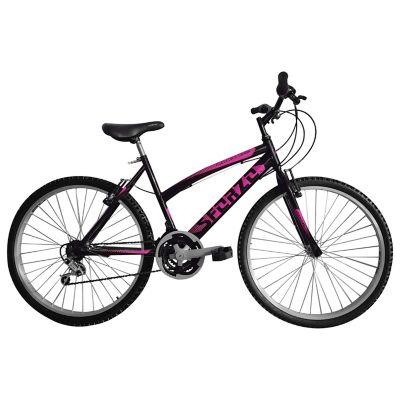 Bicicleta MTB Dama Rin 26 18 Cambios Negro BT261806