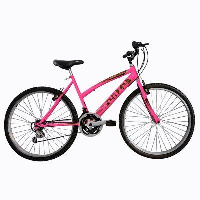 Bicicleta Mtb Dama 26 18 Cambios Rosado Bt261808
