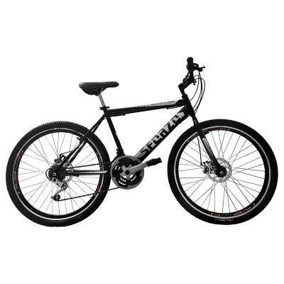 Bicicleta Rin 26 Disco Rígido 18 Cambios BTT261801 Negro