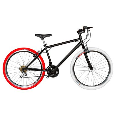 Bicicleta Mtb Urbana Rin 26 18 Cambios Negro BTU261801