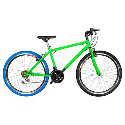 Bicicleta Mtb Urbana R- 26 18 Camb Verde Btu261802