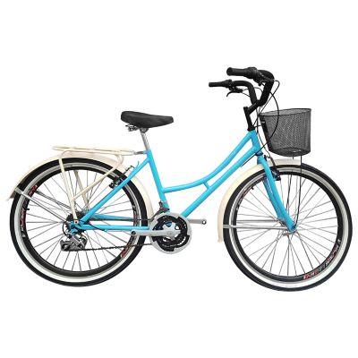 Bicicleta Playera R- 26 18 Cambios Azul Bpla2602