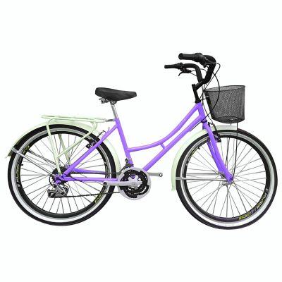 Bicicleta Playera R- 26 18 Cambios Morado Bpla2603