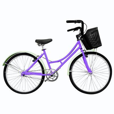 Bicicleta Playera R- 26 Sin Camb Morado Bplas2603
