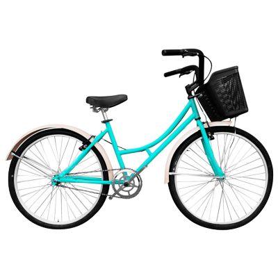 Bicicleta Playera R- 24 S/Cambios Verde Bplas2401