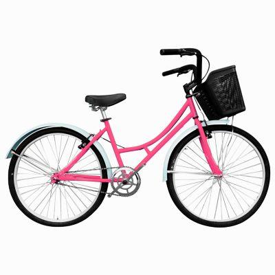 Bicicleta Playera R- 24 Sin Camb Rosado Bplas2401